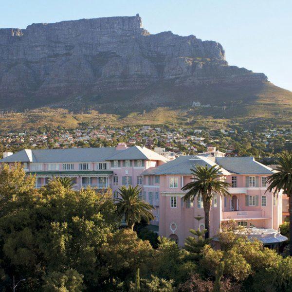 Belmond Mnt Nelson Capetown Offer pink building