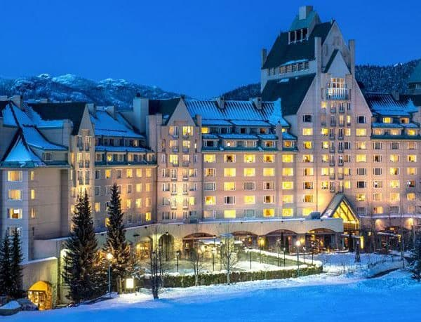 Fairmont Whistler Offer Outside Building View