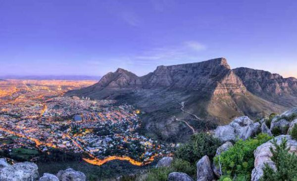 South Africa Offer Table Mountain View