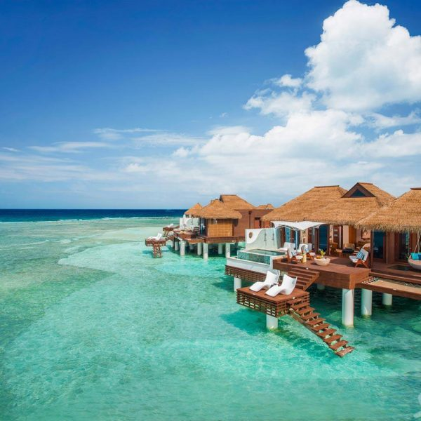 Sandals Royal Caribbean Jamaica Offer Over sea bungalow and ocean view