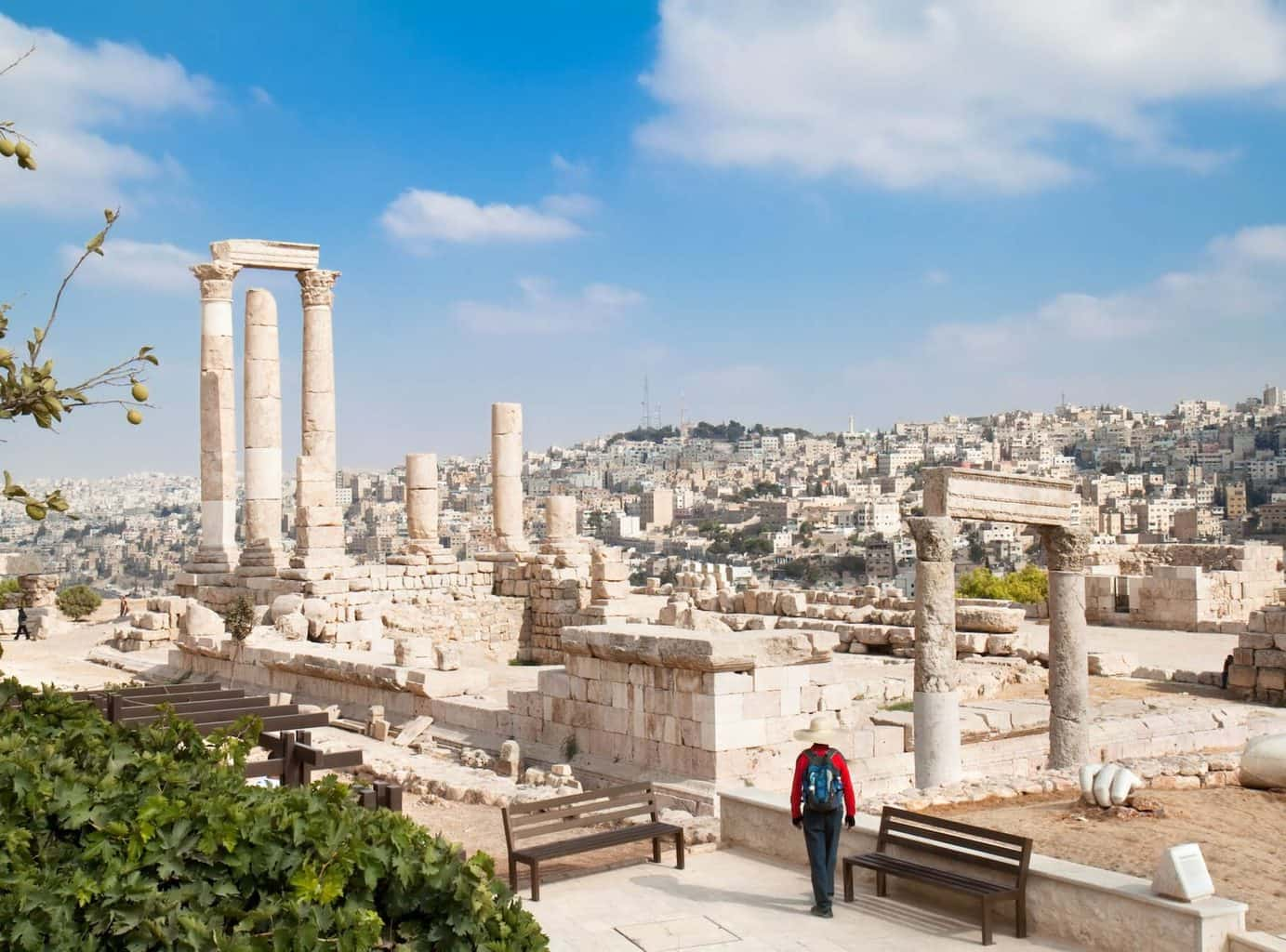 Luxury Holidays to Amman - Architecture and city view