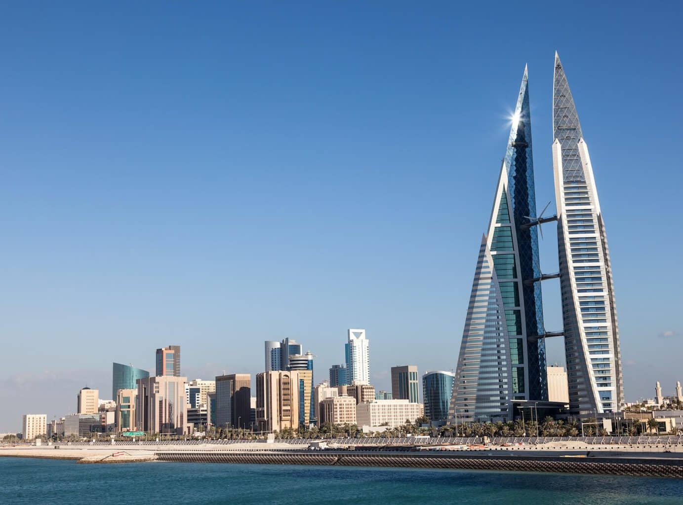 Luxury Bahrain Holidays - city and waterfront shot