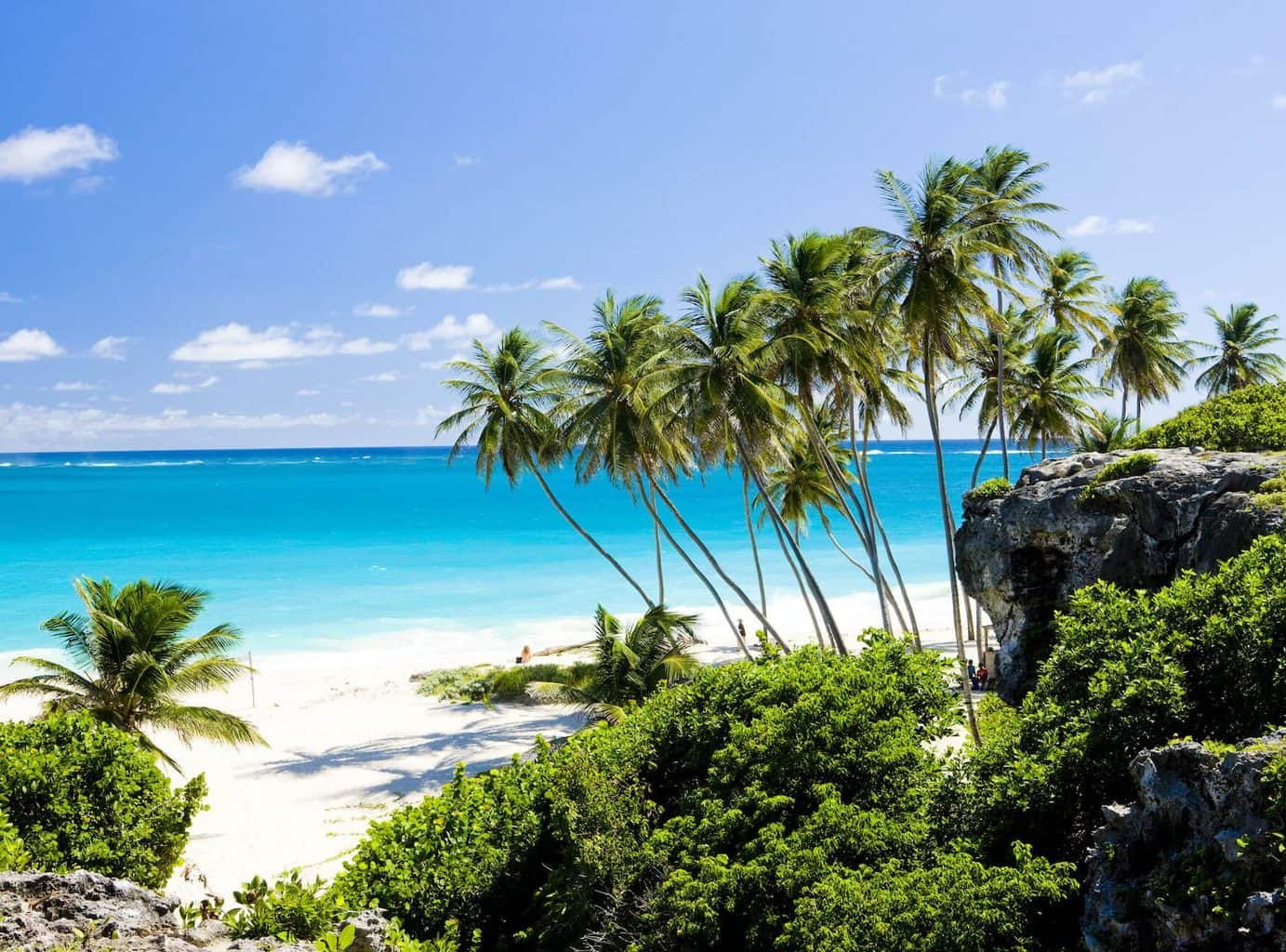 Luxury Barbados Holiday - View of the beach at Fairmont Royal Pavilion Barbados