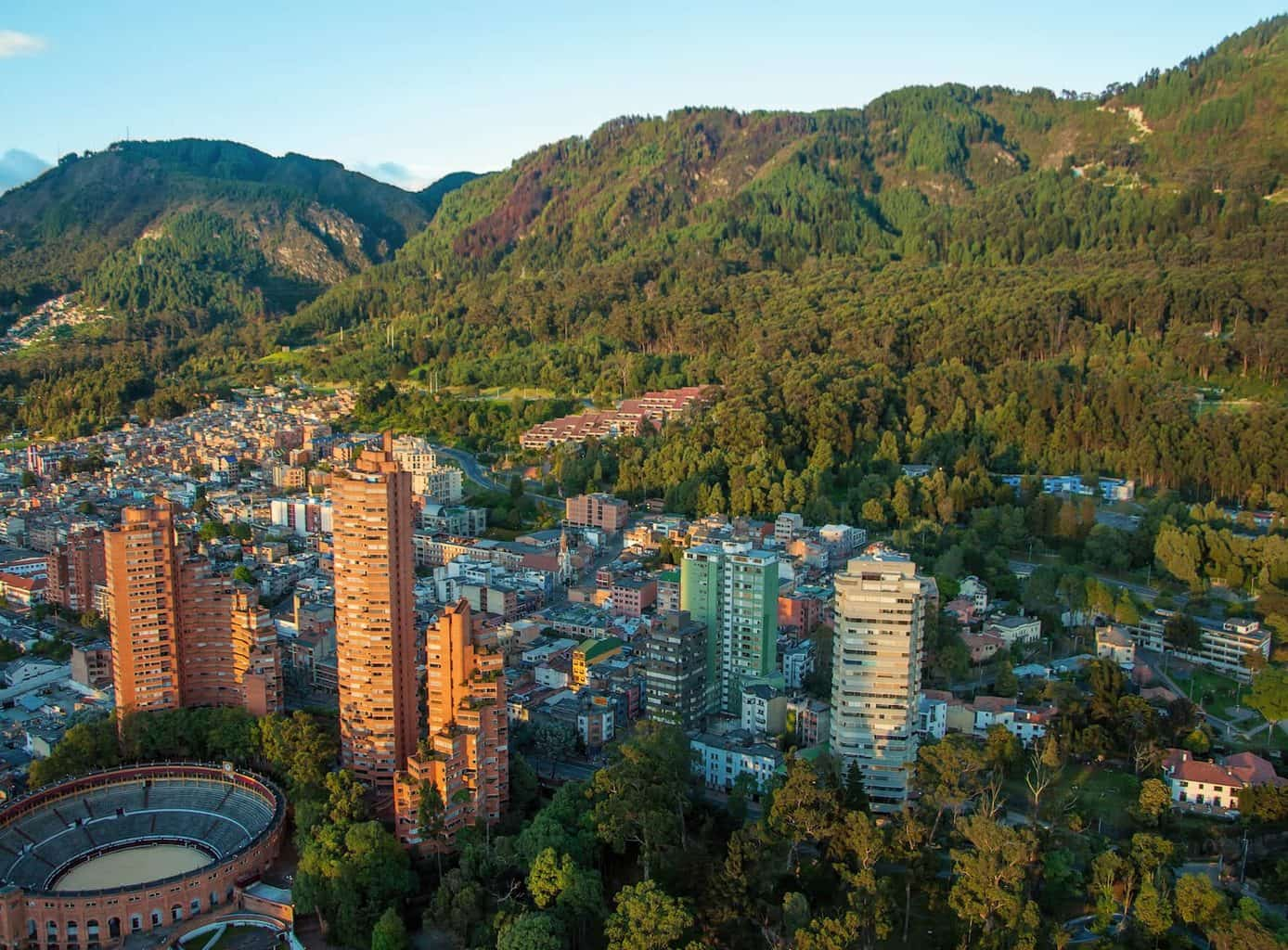 Buildings and trees - things to do in Bogota