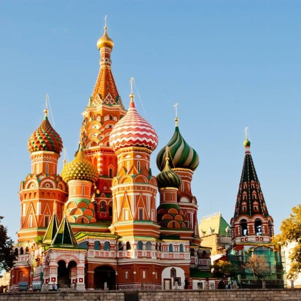 Luxury Moscow Holidays Vibrant architecture shot