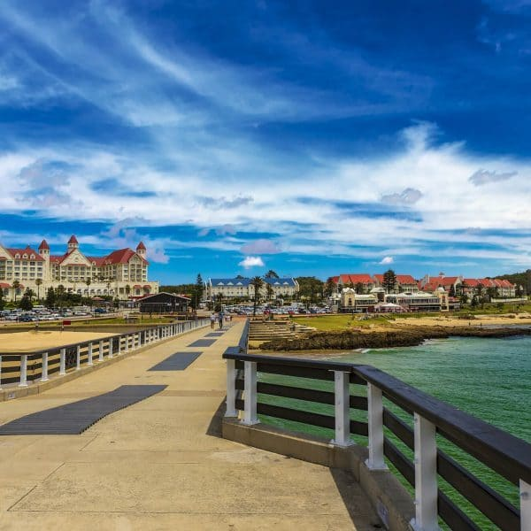 Port Elizabeth Holidays pier and ocean view