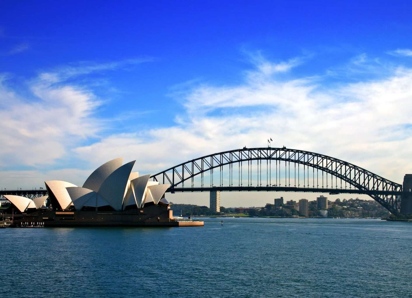 Luxury Sydney Holidays - Sydney Opera House, Harbour and bridge view