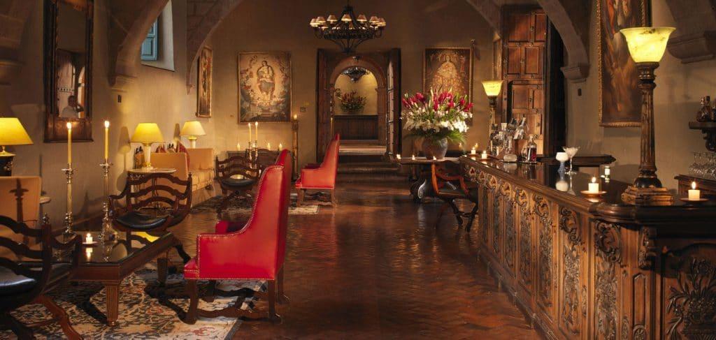 Peru Holiday Package Belmond Palacio Monasterio Lobby