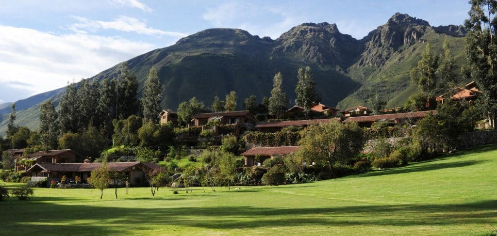 Peru Holiday Package Belmond Rio Sagrado Outside Mountain View