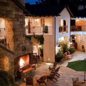 Hotel Cheval Stone Building California Road Trip