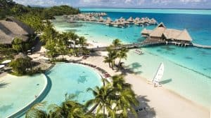 New 2017 Hotel Conrad Bora Bora Nui Ocean and Beach Villas