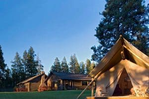 Paws Up Montana luxury family friendly hotels