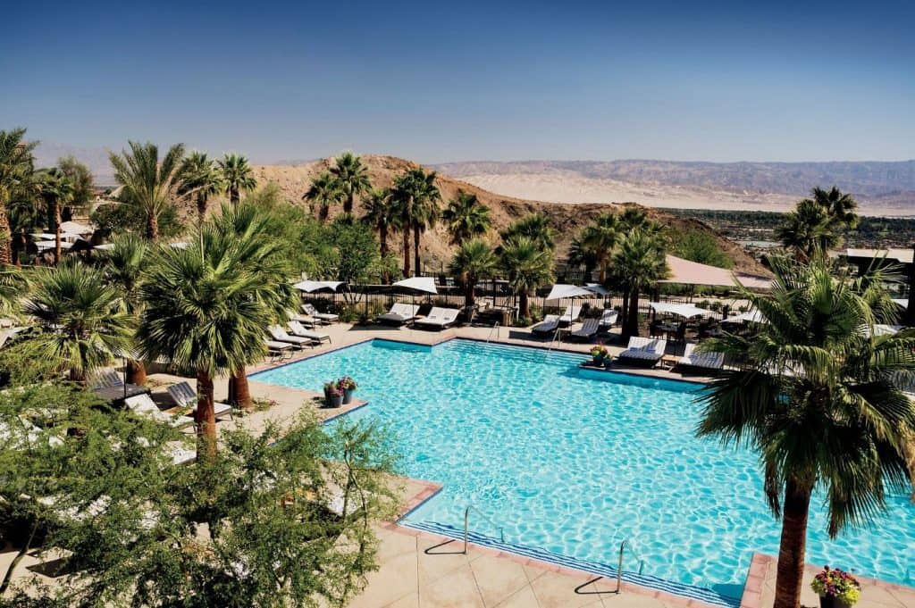 Ritz Carlton Rancho Mirage Hotel West America Coast Road Trip Swimming Pool