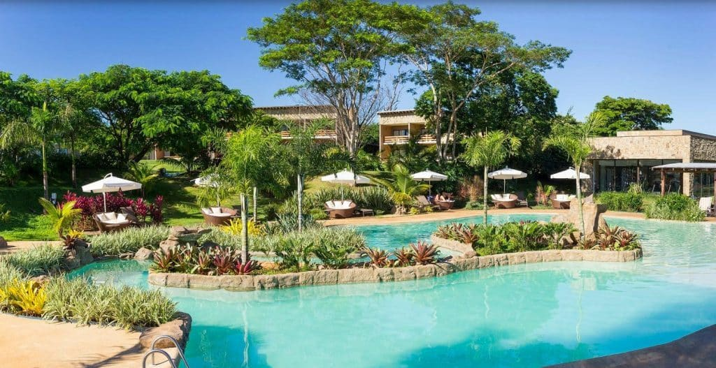 luxury family friendly hotels santa clara eco resort brazil pool and hotel