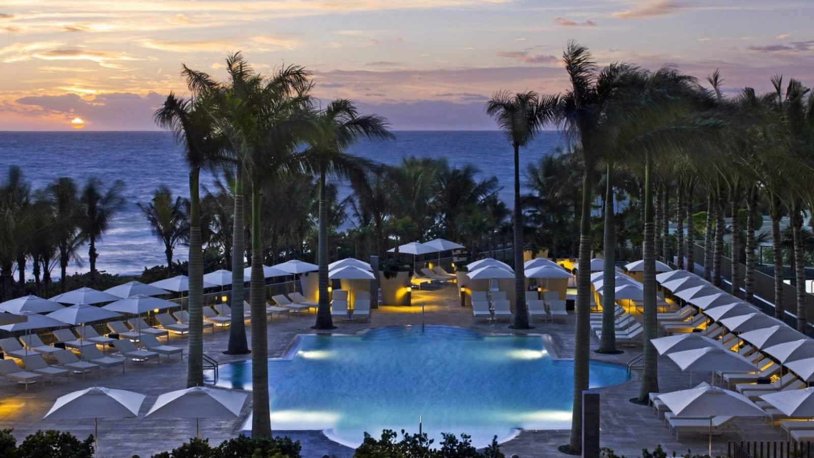 St Regis Bal Harbour Florida Offer Pool