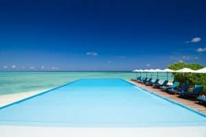 Summer Island Resorts in the Maldives Pool and Beach
