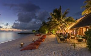 Summer Island Resort in the Maldives Beach View