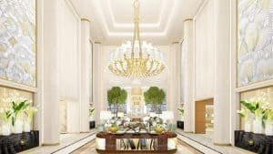 New Hotels in 2017 Waldorf Astoria Beverly Hills Lobby