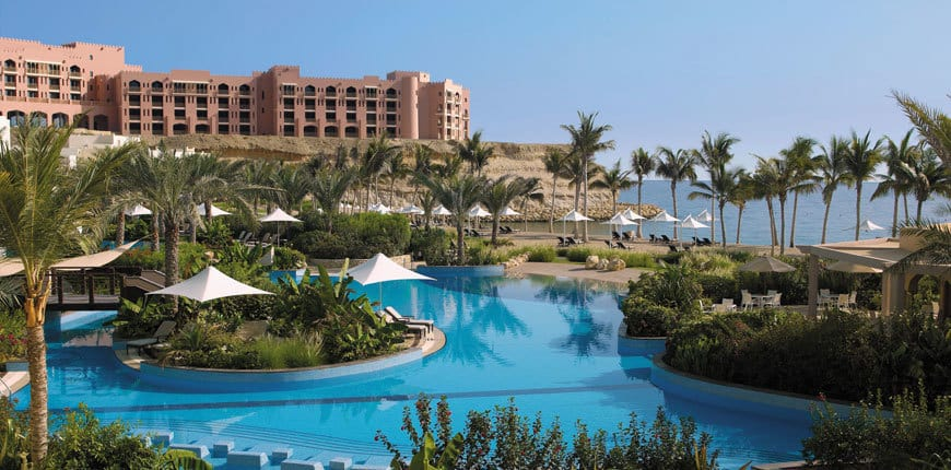 Al Bandar Oman Offer pool view