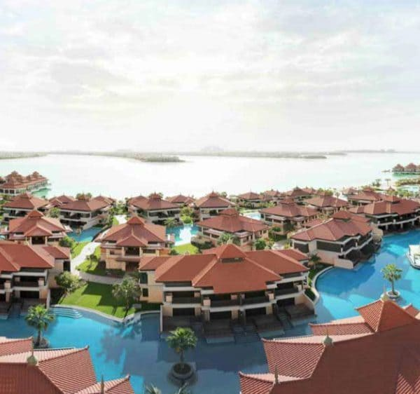 Anantara The Palm Dubai pool view