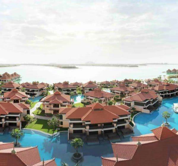 Anantara The Palm Dubai pool view