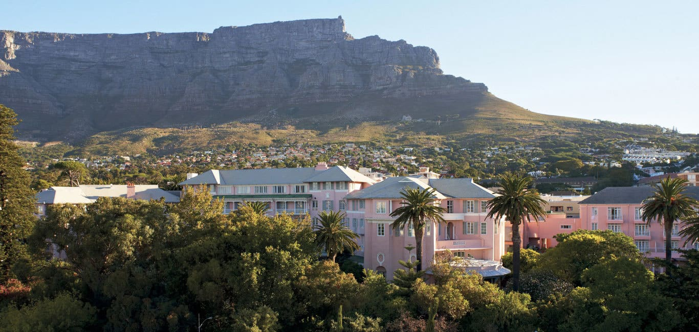 Belmond Mount Nelson Hotel Capetown Offer pink building