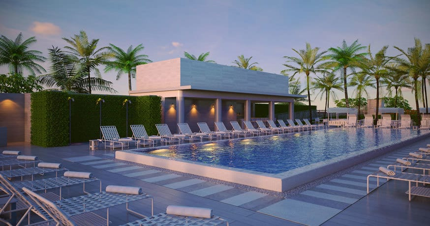 Como Miami Offer Poolside View