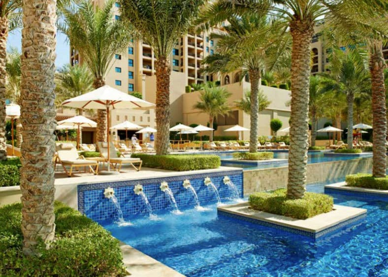 Fairmont The Palm Dubai pool view