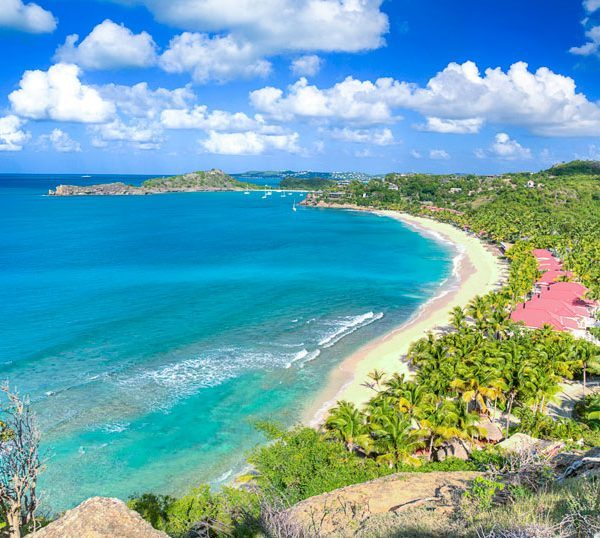 Galley Bay Antigua ocean and bach view