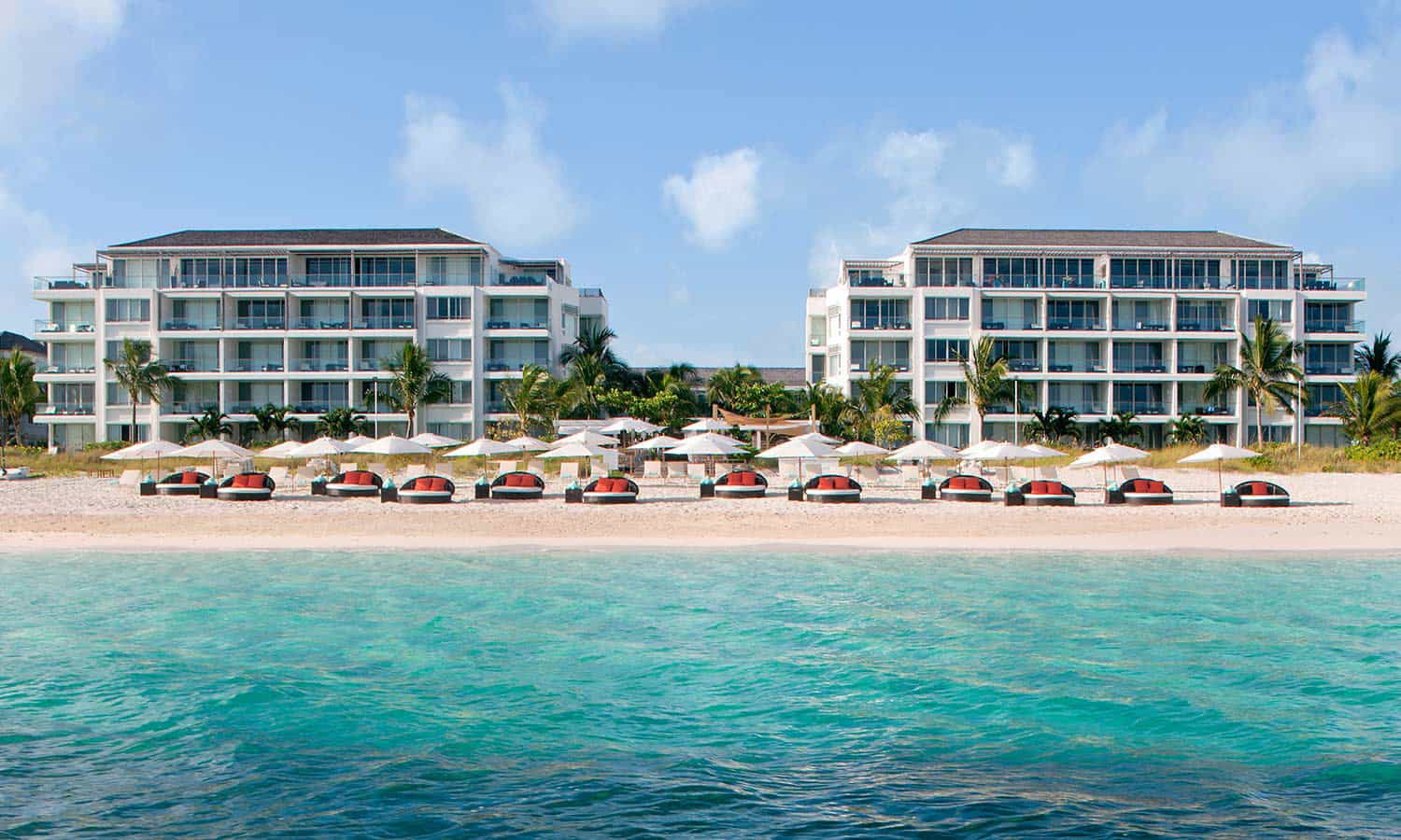 Gansevoort Turks & Caicos Hotel, Beach and Ocean View