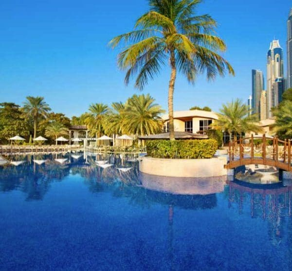 Habtoor Grand Resort Dubai pool view