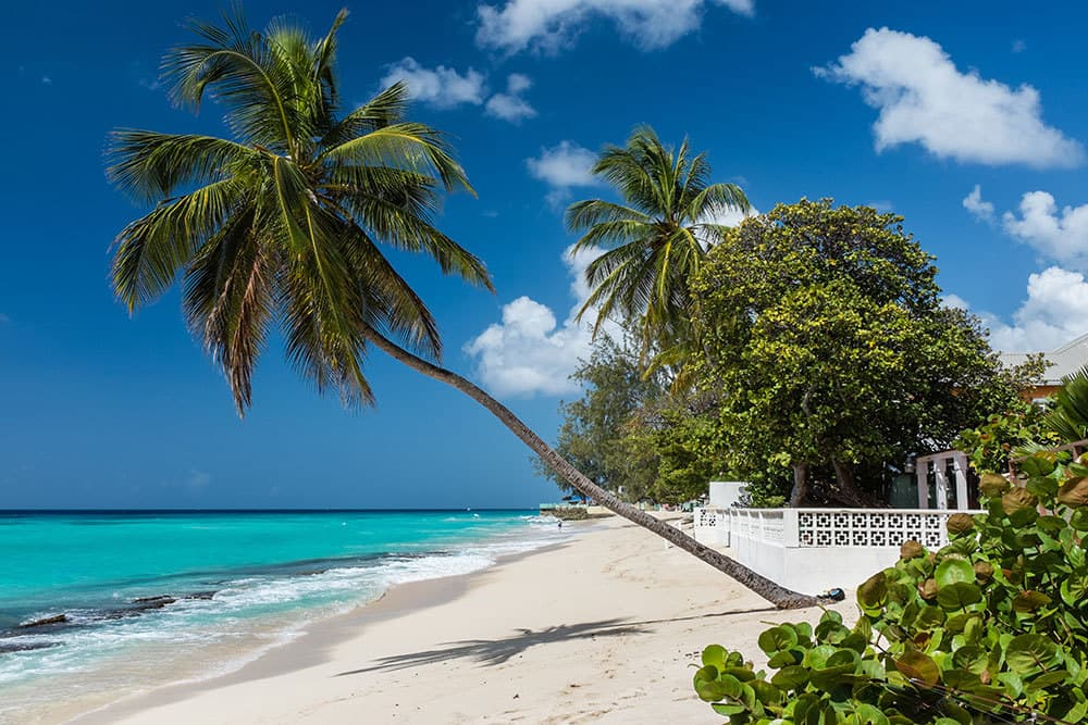 Luxury Hotels in Barbados beach and ocean view