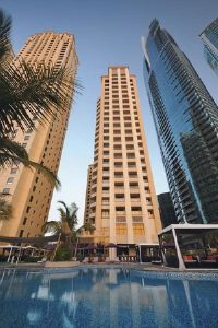 All inclusive holiday in Dubai Movenpick the walk building