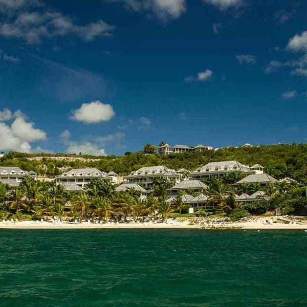 Nonsuch Bay Antigua view of the resort and beach
