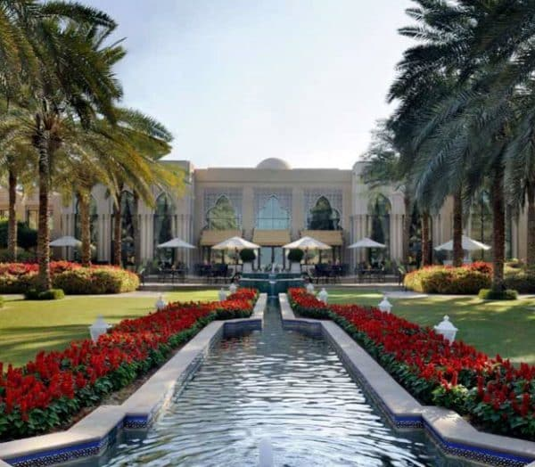 Royal Mirage Dubai Offer Gardens and Water view