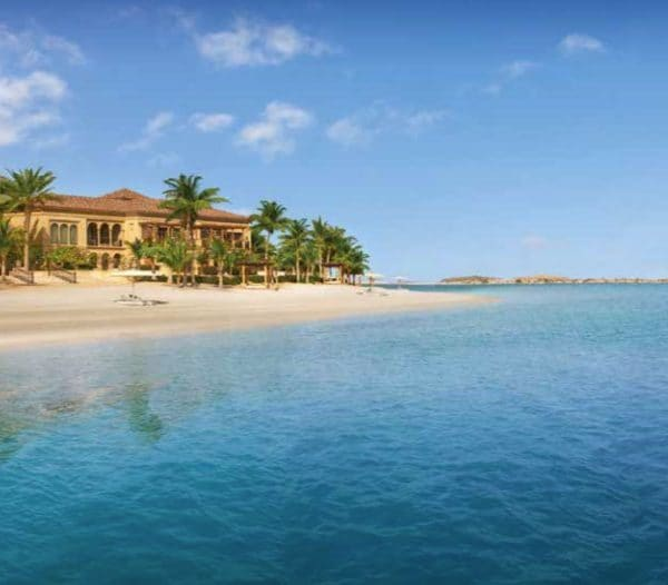 One & Only The Palm Dubai beach and ocean view