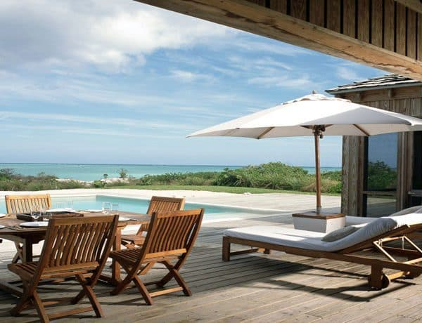 Parrot Cay Turks and Caicos Pool View