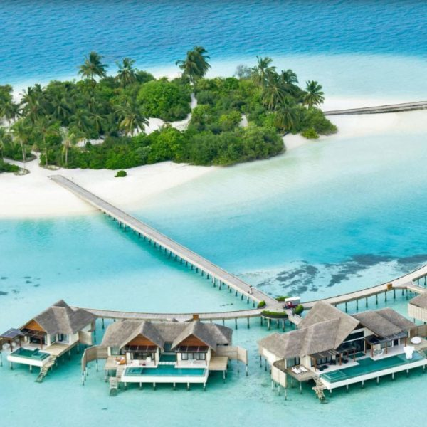 Aerial view of Per Aquum Niyama Maldives