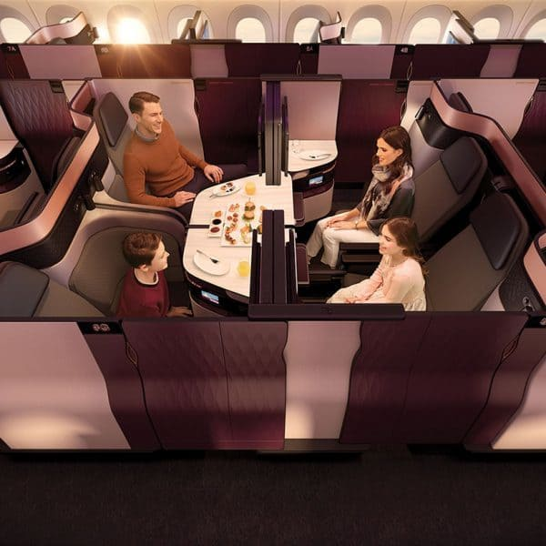 Qatar Airways Business Class Travel