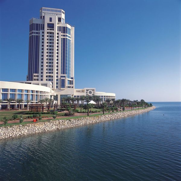 Ritz Carlton Doha Ocean and Hotel outside view