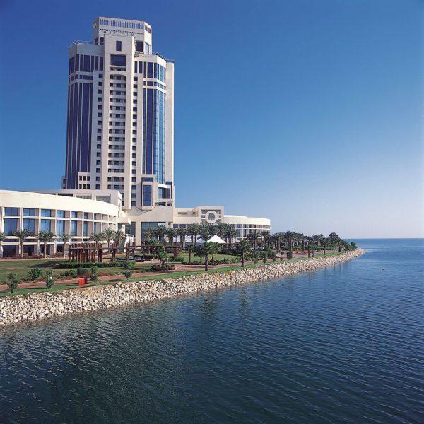 Ritz Carlton Doha Ocean and Hotel outside view