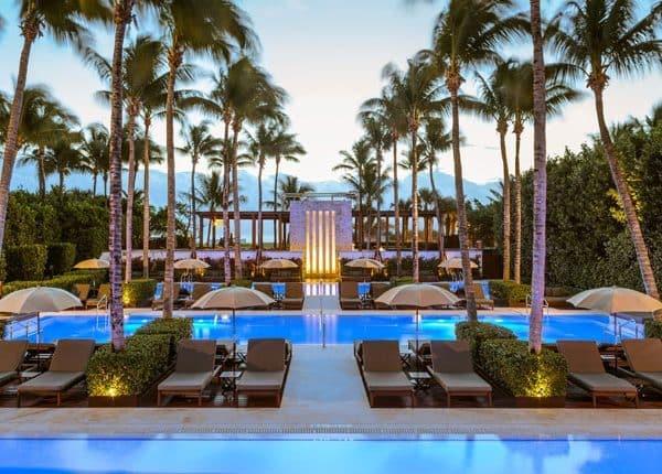 The Setai Miami Offer Pool view