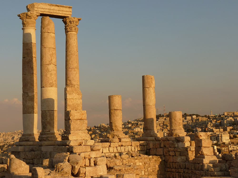 Things to do in Amman The Citadel Towers