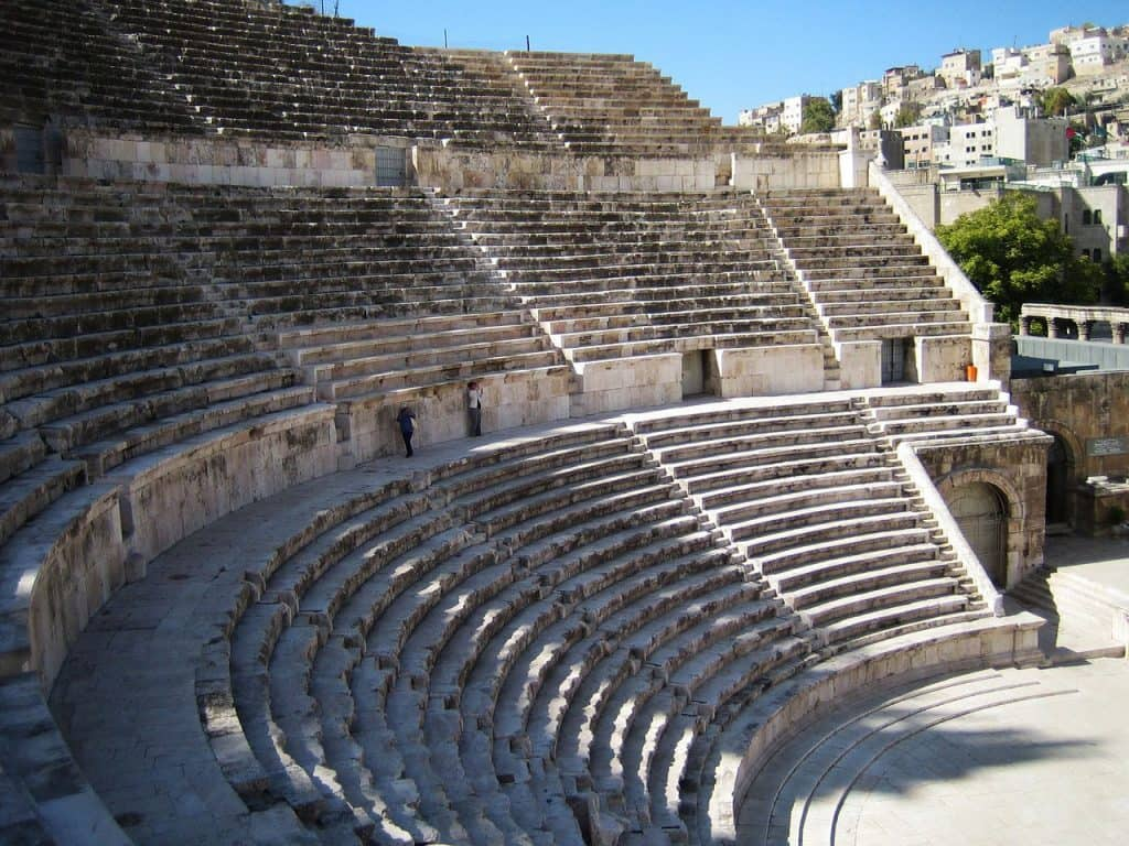 Things to do in Amman Ampitheater Stone seats