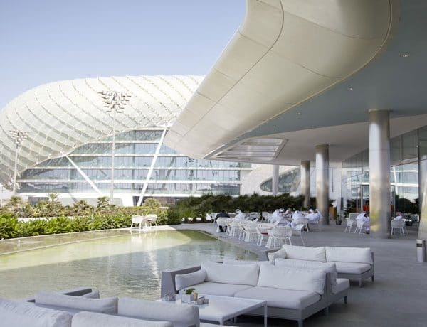 Yas Viceroy Abu Dhabi Offer Outside Hotel view