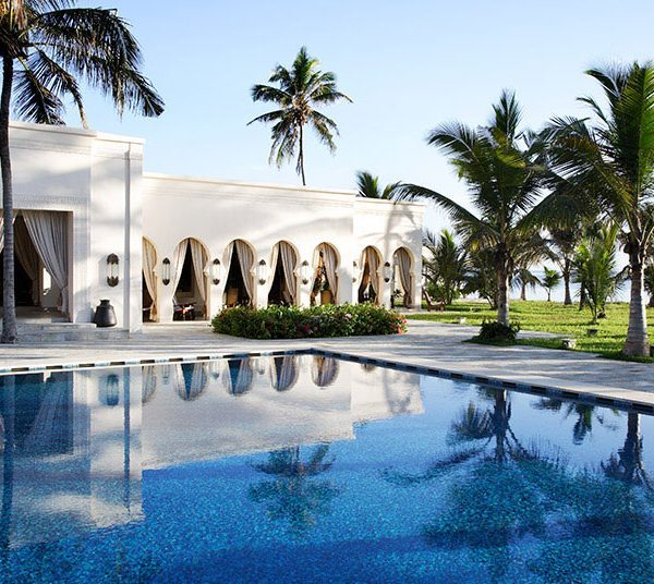 Baraza Zanzibar Offer Pool Building view