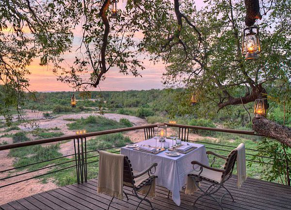 View of the private game reserve at Dulini Leadwood Lodge