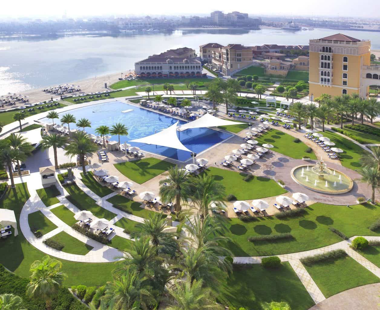 Ritz-Carlton Abu Dhabi Grand Canal Ariel View