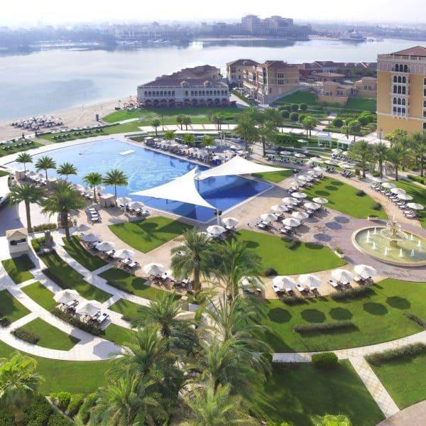 Ritz-Carlton Abu Dhabi Grand Canal Ariel View