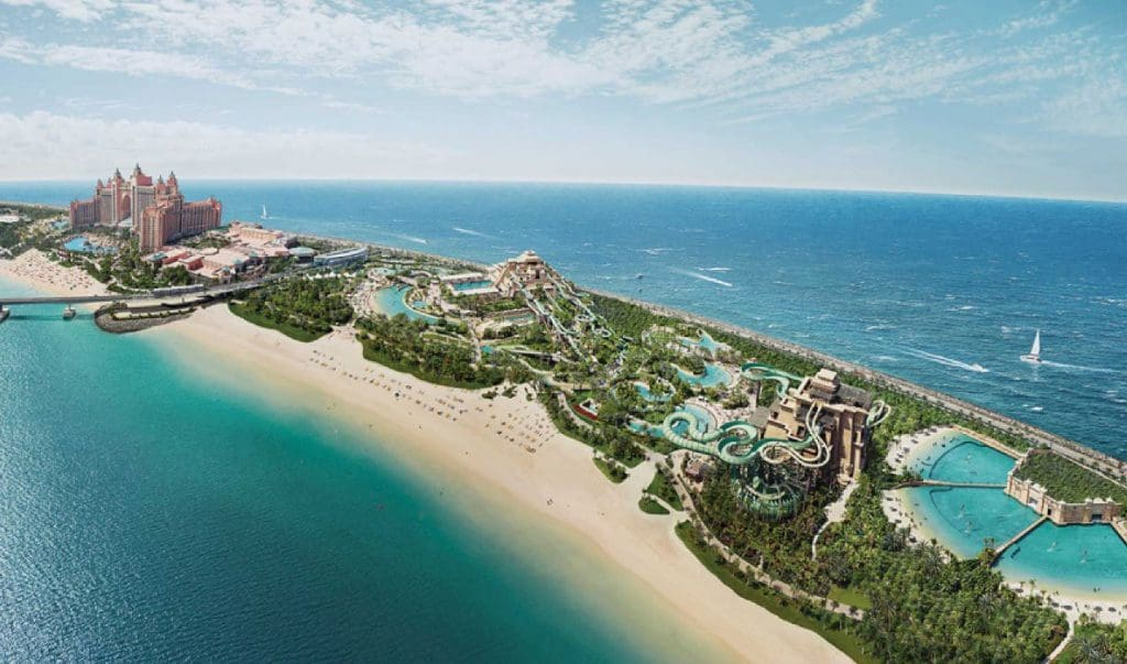 Atlantis The Palm Best hotels with waterparks in the world